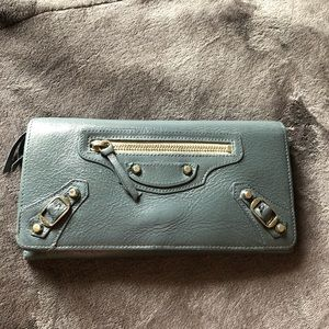Balenciaga wallet auth & used & painted